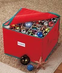 Christmas Decorations Storage Box ornament storage boxes