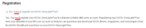 My Barnes Noble Account Nook Glowlight Plus Rooting Notes 3 Mike Cane U0027s Xblog