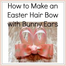 hair bow supplies how to make a hair bow with bunny ears hairbow supplies etc