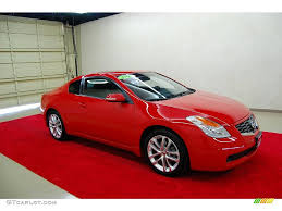 nissan coupe 2005 2009 code red metallic nissan altima 3 5 se coupe 19489433