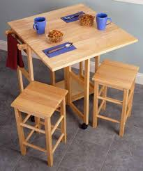 drop leaf tables for small spaces tables with stools for small kitchen home interior decorating drop
