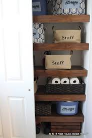 shelves in bathroom ideas diy covers for wire shelving hometalk
