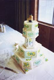 wedding cakes log cabin cakes