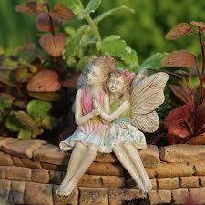 fairy garden statues amazon com miniature fairy garden limited edition my sister my