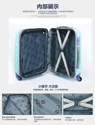 Promotion Color Promotion Fashionable Luggage Size Dot Pattern Suitcase For Girls