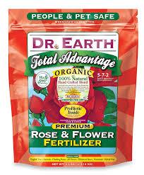 amazon com dr earth 702p organic 3 rose u0026 flower fertilizer in