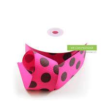 polka dot grosgrain ribbon neon green gift ribbon neon green ribbon and bows