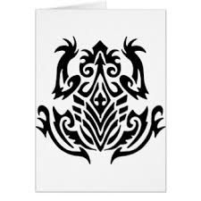 frog tattoo cards greeting u0026 photo cards zazzle