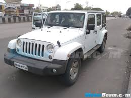 jeep wrangler pickup spotted testing jeep wrangler grand cherokee test mules in india