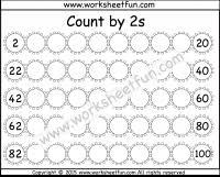 skip counting by 2 free printable worksheets u2013 worksheetfun