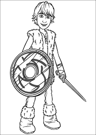 train dragon coloring pages hiccup coloringstar