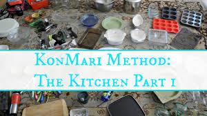 marie kondo tips konmari method the kitchen part 1 youtube