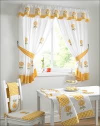 kitchen room fabulous red kitchen curtains and valances yellow