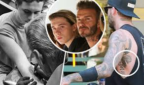 beckham pays homage to david as he gets copycat