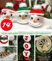 Home Made Christmas Decor 16 Homemade Christmas Ornaments Diy Christmas Crafts