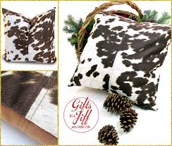 Faux Cowhide Faux Cowhide Pillow Is Casual Chic Gifts In A Jiff With Fabric