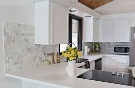 simple kitchen backsplash ideas kitchens faux tin backsplash from a cup of jo diy kitchen