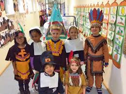 kindergarteners celebrate thanksgiving at lems kaiserslautern