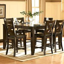 modern counter height dining table marvelous high top dining room