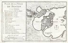 Map Of Boston Massachusetts by File 1756 Bellin Map Of Boston Massachusetts Geographicus