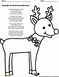 rudolph red nosed reindeer coloring