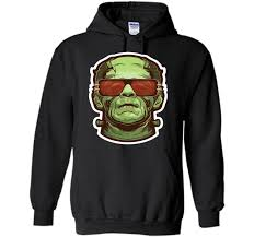 cool frankenstein monster scary movie halloween t shirt cool