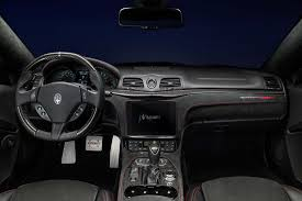 maserati car interior 2017 maserati granturismo and grancabrio gets minor updates autodevot