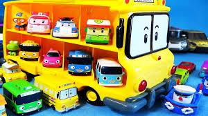 poli car toys robocar poli bus u0026 tayo mini cars