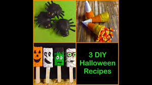 diy easy halloween themed food ideas 3 recipes in 1 video how to