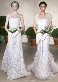 oscar de la renta lace wedding dress oscar de la renta 2011 wedding gowns wedding inspirasi