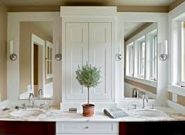 Shallow Bathroom Cabinet Shallow Base Cabinets Bathroom Farmhouse With Cabinet On Top