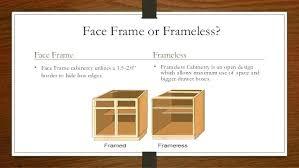 framed vs frameless cabinets face frame cabinet framed vs cabinet 3 face frame or framed vs