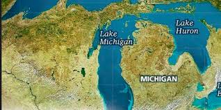 White Lake Michigan Map by Shipping Great Lakes Water That U0027s California Dreaming