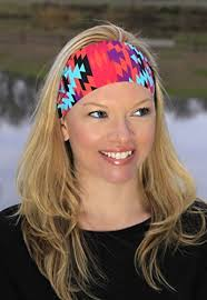 athletic headbands ravebandz fashion stretch headbands tribal prints non slip wide