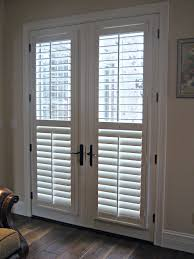 Plantation Shutters On Sliding Patio Doors Plantation Shutters For Sliding Glass Doors Rollingi Blinds Patio
