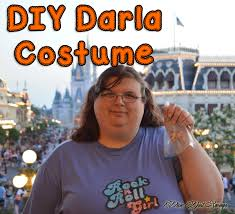 diy darla costume homemade disney costume