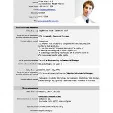 Child Modeling Resume Sample by Attractive Modeling Resume Template Brefash Cv Model Bitrace Co