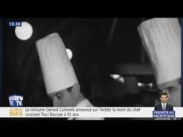 annonce chef de cuisine le chef cuisinier paul bocuse est mort à 91 ans