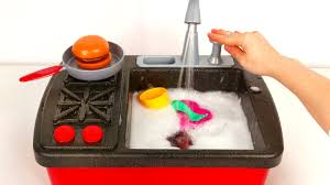 Kitchen Faucet Not Working by Stovetop Kitchen Faucet Playset With Working Water Pump And
