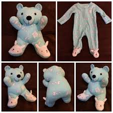 teddy clothes turn baby s clothes into keepsake memory bears simplemost