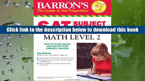 popular book barron s sat subject test math level 2 for free