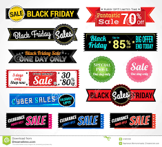 best deals for black friday resale set of retro promotion discount sale and guarantee tag banner la
