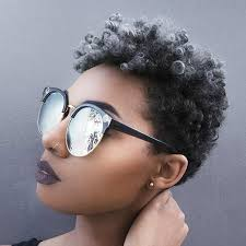 black women short grey hair 31 best short natural hairstyles for black women page 2 of 3