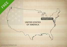 Map United States Of America by Free Vector Map Of United States Of America One Stop Map
