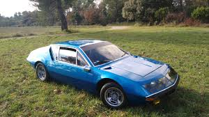 renault alpine classic alpine a310 1600cc de 1973 restored 2 years ago to discover in