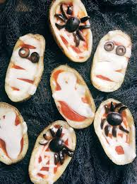 halloween pizza potato skins three olives branch