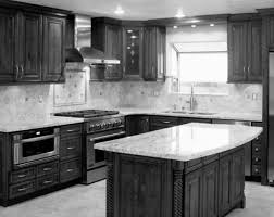 dark kitchen cabinets with light granite countertops furniture lovable kitchen american woodmark cabinets with silver