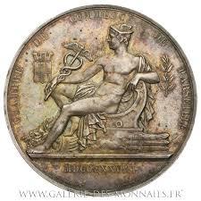 chambre de commerce marseille telephone médaille grand module chambre de commerce de marseille par domard 1878