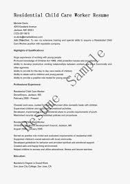 residential child care worker cover letter 68 images