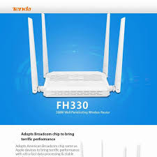 fh330 300m wireless router 4 antenna cover 300 square meters